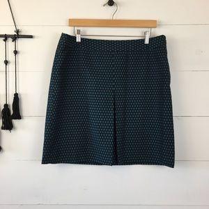 LOFT geometric pencil skirt size 12